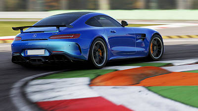 Photograph - Mercedes Benz Amg Gtr - 40 by Andrea Mazzocchetti
