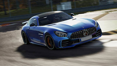 Photograph - Mercedes Benz Amg Gtr - 42 by Andrea Mazzocchetti