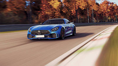 Photograph - Mercedes Benz Amg Gtr - 48 by Andrea Mazzocchetti