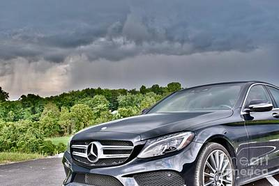 Editoria Photograph - Mercedes Benz Beauty by Jeramey Lende