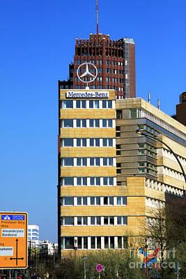 Photograph - Mercedes Benz Berlin Headquarters by John Rizzuto