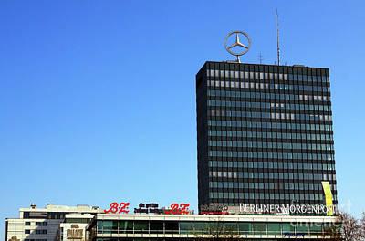 Photograph - Mercedes Benz Berlin by John Rizzuto
