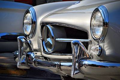 Photograph - Mercedes Benz by Dean Ferreira