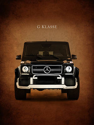 Wagon Photograph - Mercedes Benz G Klasse by Mark Rogan