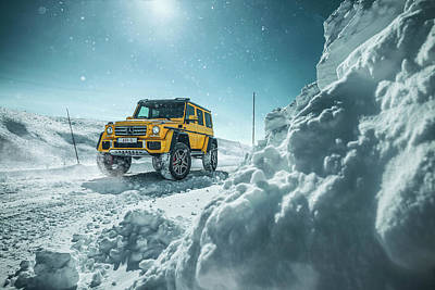 Photograph - Mercedes-benz G500 4x4 Squared by Gijs Spierings