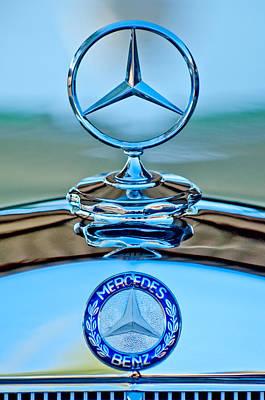 Photograph - Mercedes Benz Hood Ornament by Jill Reger