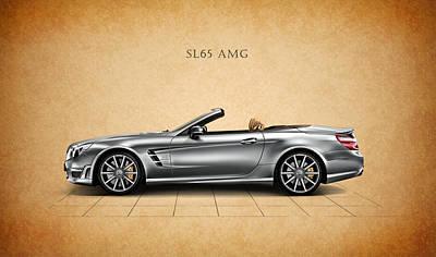 Photograph - Mercedes Benz Sl 65 Amg by Mark Rogan