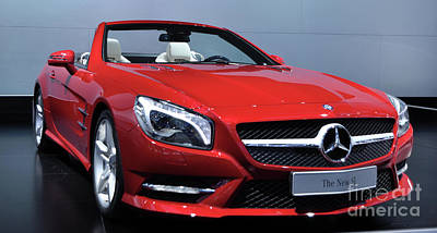 Photograph - Mercedes Benz Sl by Ronald Grogan