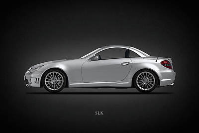 Photograph - Mercedes Benz Slk by Mark Rogan