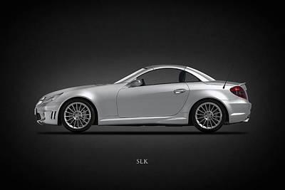 German Classic Cars Photograph - Mercedes Benz Slk by Mark Rogan