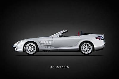 Mercedes Benz Slr Mclaren Art Print