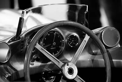 Vintage Porn Photograph - Mercedes Benz Streamliner  by Robert Phelan