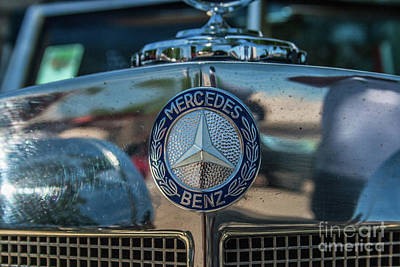 Photograph - Mercedes Benz by Tony Baca