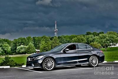 Editoria Photograph - Mercedes C-class by Jeramey Lende