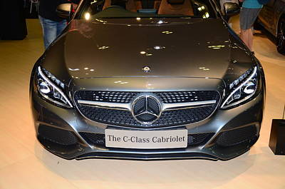 Photograph - Mercedes Cabriolet by Chua  ChinLeng