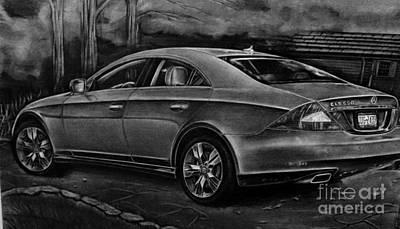 Mercedes Cls 550  Original by Gary Reising
