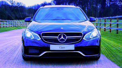 Photograph - Mercedes by Mikes Photos
