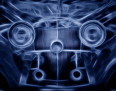 Abstract Photograph - Mercedes Roadster by Tom Mc Nemar