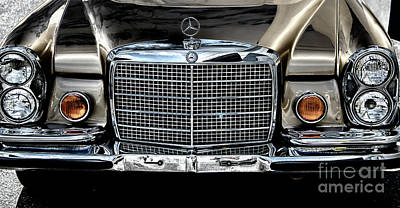 Photograph - Mercedes Star by Dale Powell