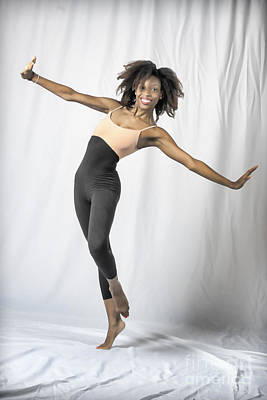 Photograph - Mercedes The Dancer With Arms Out by Dan Friend