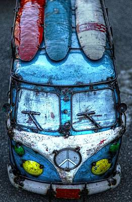 Photograph - Peace Van Funked Out by Carol Montoya