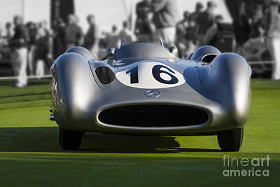 Photograph - Mercedes W 196 R Streamliner by Dennis Hedberg