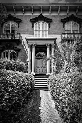 Savannah Photograph - Mercer House Savannah by Joan Carroll