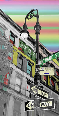 Art Print featuring the photograph Mercer St by Christopher Woods