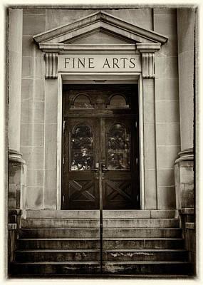 Mercer University - Fine Arts Door #2 Art Print