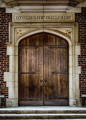 Mercer University - Ryals Law Building Door Art Print