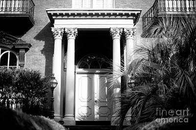 Photograph - Mercer Williams House Front Door by John Rizzuto