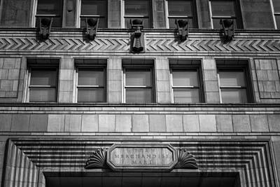 Clark Street Photograph - Merchandise Mart by Mike Burgquist