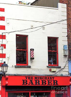 Photograph - Merchant Barber Dublin by John Rizzuto