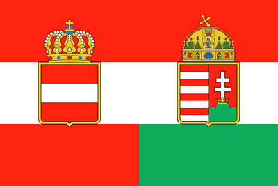 Digital Art - Merchant Ensign Of Austria-hungary 1869-1918 by Helga Novelli
