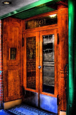 Popstar And Musician Paintings - Merchants Cafe Doors by David Patterson