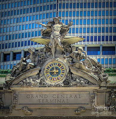 Photograph - Mercury At Grand Central Terminal by Susan Lafleur