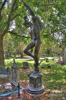 Graveyard Photograph - Mercury by Hilton Barlow