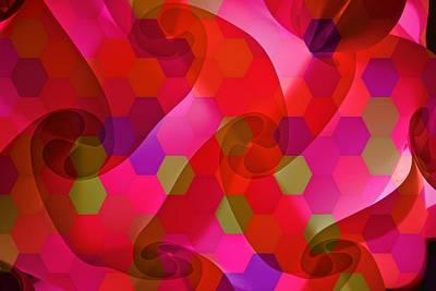 Digital Art - Mercury Illuminations by Joan Reese