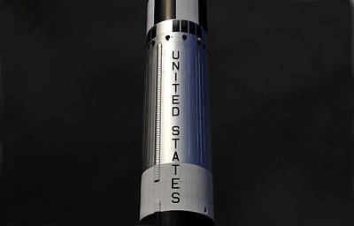 Photograph - Mercury Redstone Rocket by David Lee Thompson