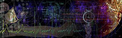 Digital Art - Mercury Rising by Kenneth Armand Johnson