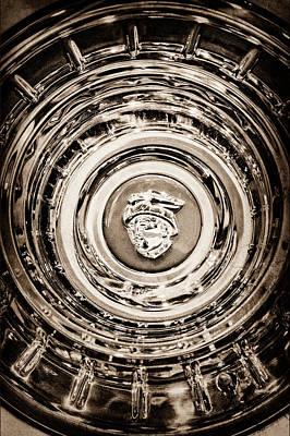 Photograph - Mercury Wheel Emblem-0306s by Jill Reger