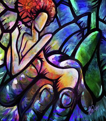 Mercy's Hand Art Print