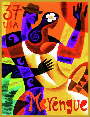 Merengue Art Print