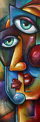 Urban Expressions Painting - Merge by Michael Lang
