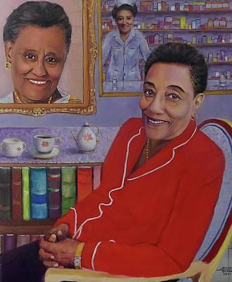 Painting - Mergie M. Jammoo  by Samuel Daffa