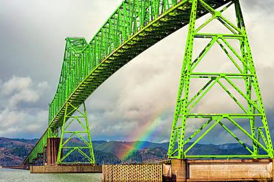 Photograph - Mergler Bridge  by Dee Browning