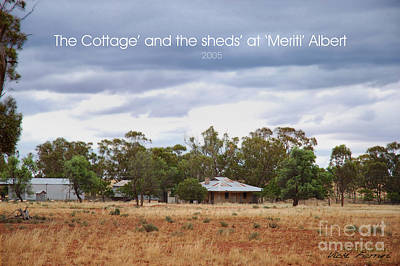 Photograph - Meriti Cottage by Vicki Ferrari