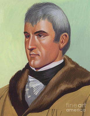 Painting - Meriwether Lewis by Ron Embleton
