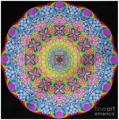 Merkaba Chakra 2 Art Print by Nofirstname Aurora