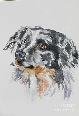 Painting - Merle Aussie by Susan Herber